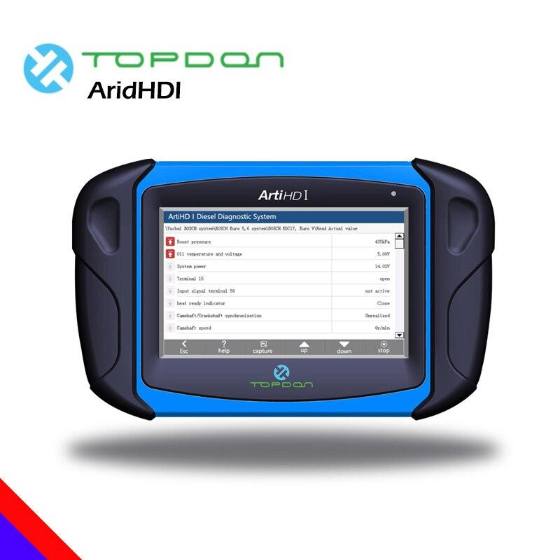 Topdon Arti HD я сверхмощный человек грузовик OBD OBD2 16pin сканер инструмент диагностики автомобильный ЭКЮ программист кодирования