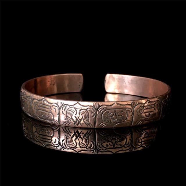 Bracelet Cuivre Tibetain