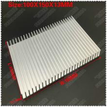 2PCS 100x150x13mm radiator Aluminum heatsink Extruded heat sink for LED Electronic dissipation cooling cooler