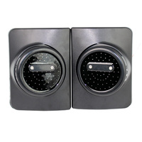 2Pcs Led for Jeep Wrangler JK LED Round Tail Lights For Jeep Wrangler With Running/Brake Light