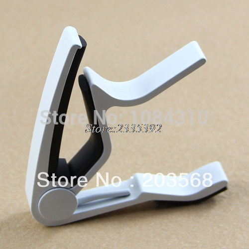Popular Guitar Trigger Capo Acoustic Electric Single-Handed Tune Quick Change portable guitar capo acoustic electric guitars tune quick change trigger flat change clamp key capo guitar accessories