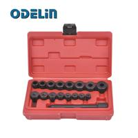 Clutch Alignment Tool Kit Aligning Universal 17pc For All Cars Vans PT1054