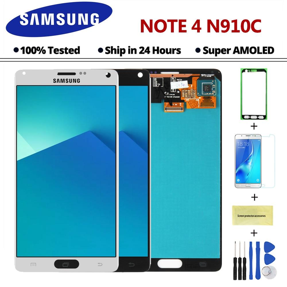 Sinmaytai Reparatie Onderdelen Voor Samsung Galaxy Note 4 Note4 N910C N910 N910A N910F Lcd scherm + Touch Screen Vergadering + gereedschap-in LCD's voor mobiele telefoons van Mobiele telefoons & telecommunicatie op AliExpress - 11.11_Dubbel 11Vrijgezellendag 1