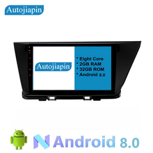 Eight-Core Android 8.0 2G RAM 1024*600 Car multimedia GPS Navi player With Touch Screen For KIA Niro 2016-2018
