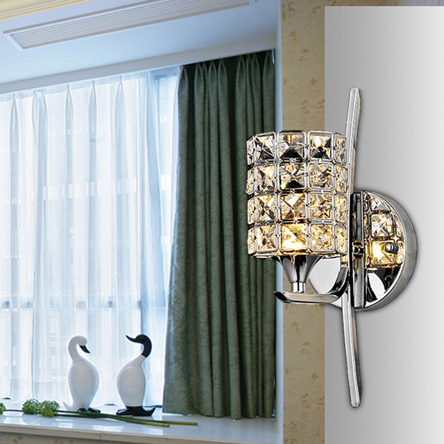 Postmodern K9 Crystal Sconce Wall Lamp Light