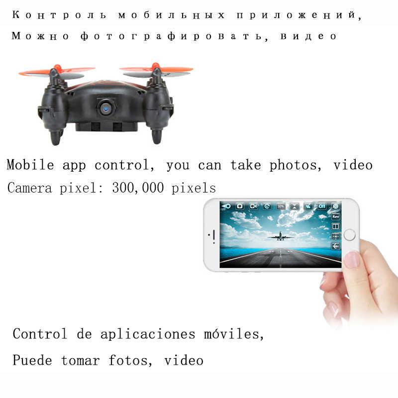 Drone dengan Kamera HD Wifi FPV Selfie Profesional Mini Drone Kamera Drone RC Mainan untuk Anak Helikopter Kacamata VR Drone remote