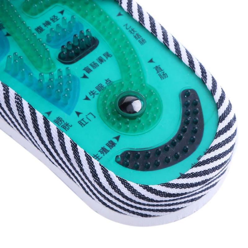 Akupunktur fod massage tøfler sundhed sko refleksologi magnetiske - Sundhedspleje - Foto 6