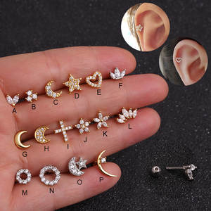 Sellsets Earring Tragus Helix Cartilage Piercing Jewelry