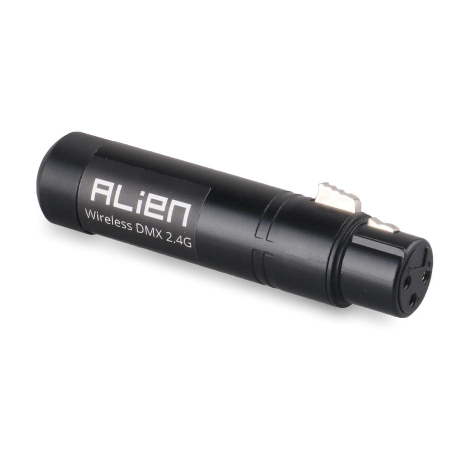 ALIEN 2.4G ISM Wireless DMX 512 Dfi Controller XLR Receiver Transmitter For Disco DJ Party Bar Stage PAR Moving Head Laser Light 2