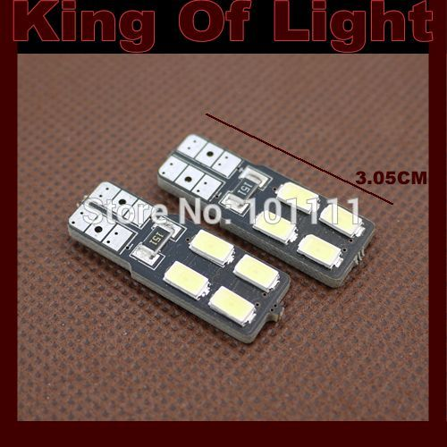 4x high quality car led lamp 194 W5W 4smd T10 wedge 4 led smd 5630 5730 canbus obc error free no error Free shipping