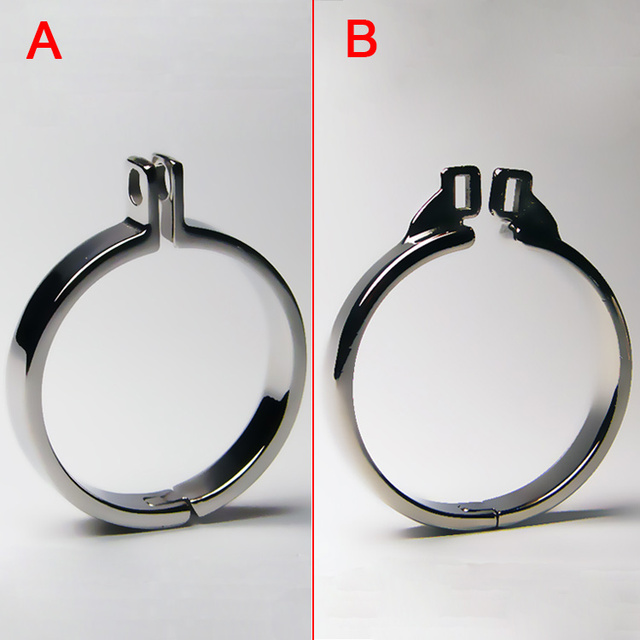 Stainless Steel Cock Rings Metal Cock Cage Chastity Belt Bondage Gear For Men Penis Ring BDSM Toys Chastity Cage Chastity Device