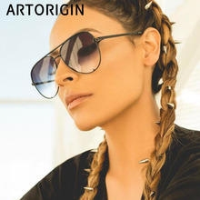 2019 fashion aviation sunglasses women quality suitable for