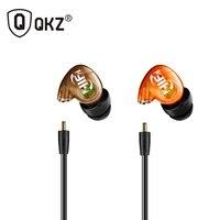 QKZ DM215 Earphone High Quality Music Headset Detachable HiFi Earphones In-ear With MIC fone de ouvido auriculares audifonos