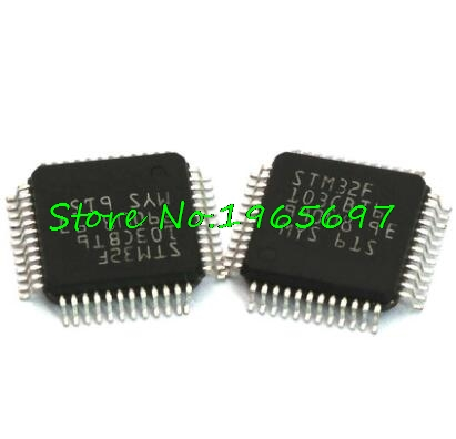 1pcs/lot STM32F103CBT6 STM32F103CB 32F103CBT6 QFP-48 New Original In Stock