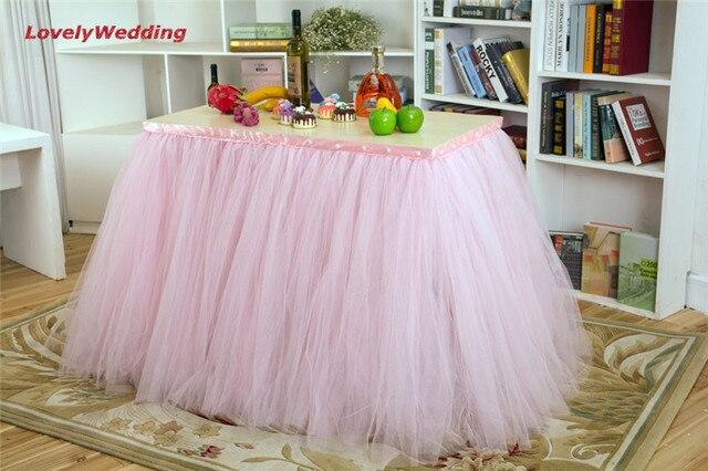 Decorazioni Da Tavolo Per Compleanno : Completamente personalizzato tulle gonna tavolo tutu decorazione