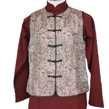 Tangsuit linen Hanfu  Kung Fu dress  spring new Chinese men's national  costume made in China Hanfu Republic of China style p810 pc software configuration interface instead of dse810 made in china