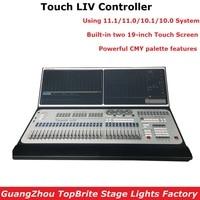 Упаковочный кофр новые 11,1 Системы этап Touch LIV контроллер перемещения головы светодиодный Par консоли 19 в двойном Экран Dj контроллер