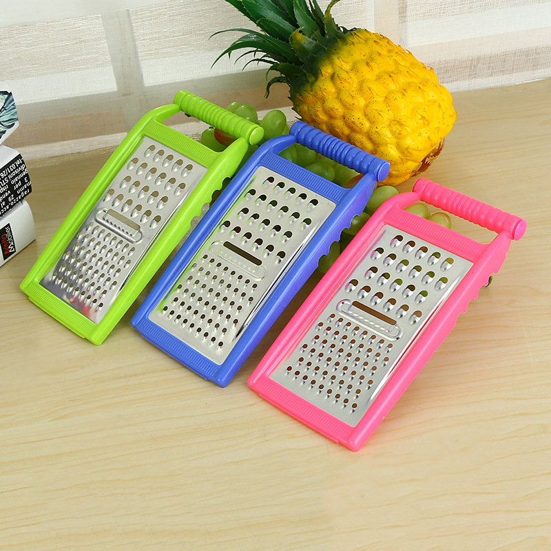 Urijk 1Pc Color Random Stainless Steel Multifunctional Shredder Paring Knife Fruits&Vegetable Grater Potato Kitchen Tool