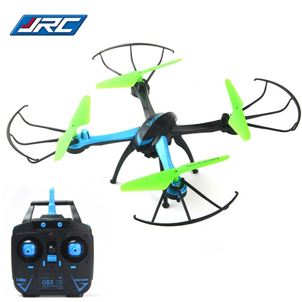 Оригинальный jjrc Радиоуправляемый квадрокоптер 2.4 г 4CH 6 оси гироскопа Quad вертолеты Дроны с 0.3MP Камера один ключ автоматический возврат Drone Дрон Игрушечные лошадки