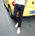 Aliexpress 2016 Spring autumn new Explosion models hot sale men fashion solid color casual straight pants Cheap wholesale