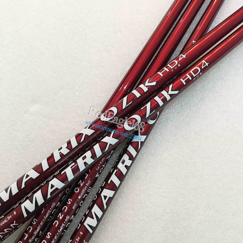Cooyute 10pcs/lot New Golf Driver Shaft MATRIX OZIK HD4 16 Corner Graphite Golf Shaft R Or S Flex Golf Wood  Shaft Free Shipping