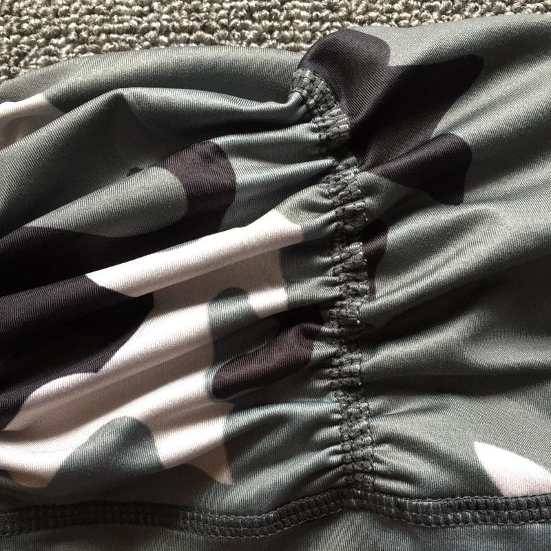 Ny Camouflage Print Kvinder Sporting Leggings High Elastic Workout - Dametøj - Foto 5