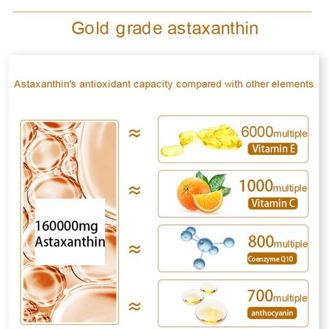 clareamento da pele astaxantina liquido primario 30 ml