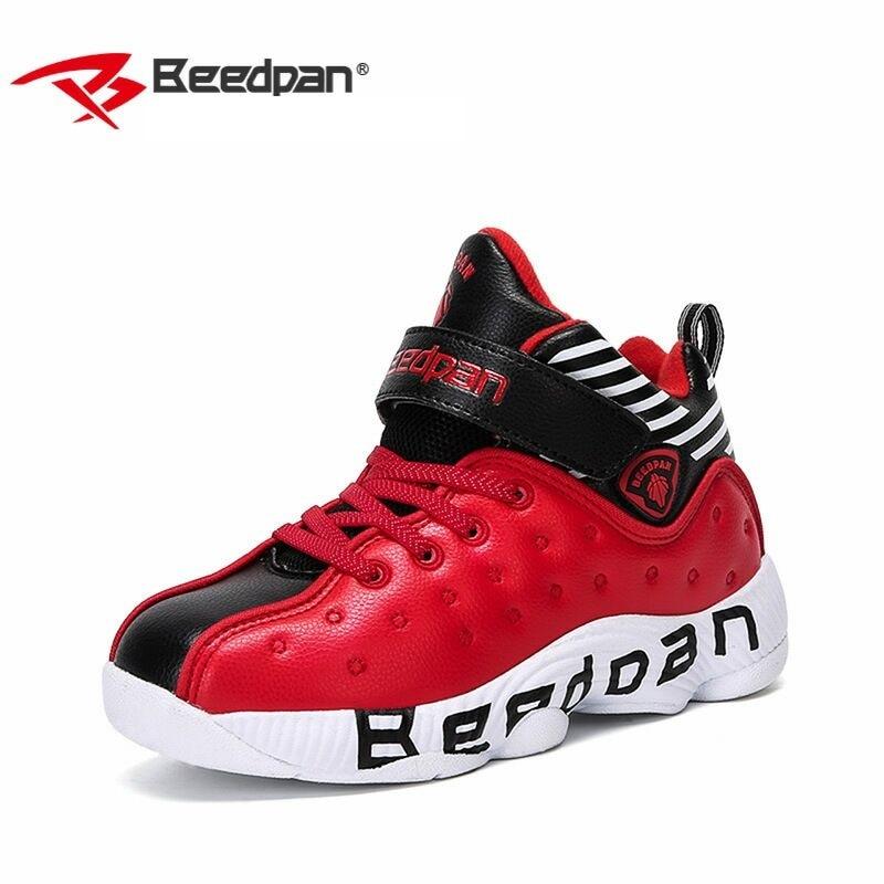e9b96de2 US $39.99 |BEEDPAN Big Kids Basketball Shoes Boys Girls Shockproof Sport  Running Walking Shoes Blue Teenage Sneakers Basket Enfant Garcon-in  Sneakers ...