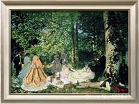 Claude Monet art collection Le Dejeuner Sur L Herbe oil Painting canvas High quality Hand painted