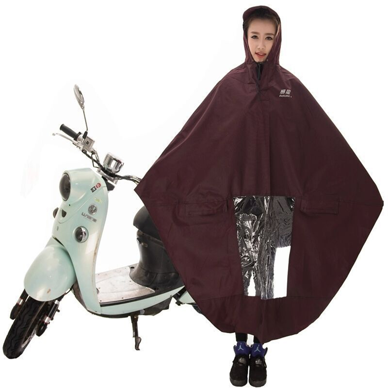 Exterior Accessories Disciplined Mens Womens Cycling Bicycle Bike Raincoat Rain Cape Poncho Hooded Windproof Waterproof Rain Coat Mobility Scooter Cover Automobiles & Motorcycles