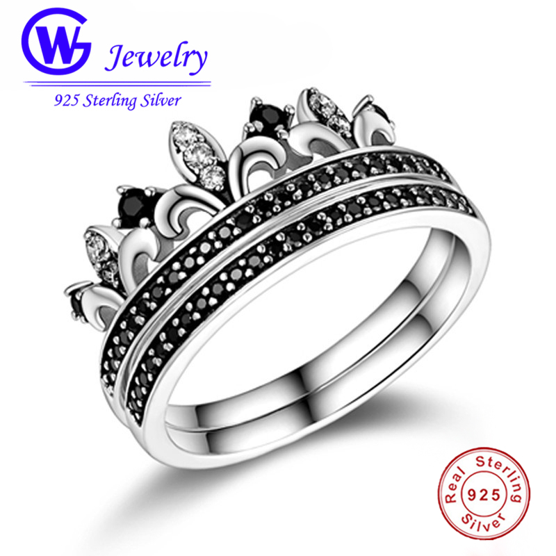 925 Sterling Silver Crown Ring Pave Zirconia arty Silver Ring Gw Jewelry RIPY085 брелок gw jewelry