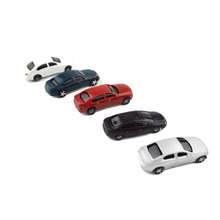 1:75 scale ABS plastic model car toy for architectural miniature kits hot sale