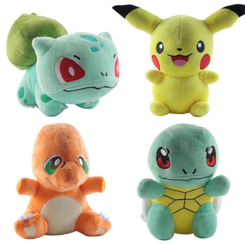 Doll Gengar-Toys Plush-Toy Pikachu Sleeping-Pillow Jigglypuff Birthday-Gifts Anime Charmander