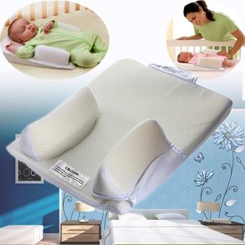 Baby Care Infant Newborn Anti Roll Pillow U Ltimate Vent Sleep Fixed Positioner Prevent Flat Head Sleeping Cushion