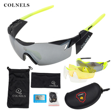 COLNELS Bicycle Glasses Outdoor Sport Mountain Bike  Motorcycle Sunglasses Eyewear  Men Women Cycling Glasses YJ02