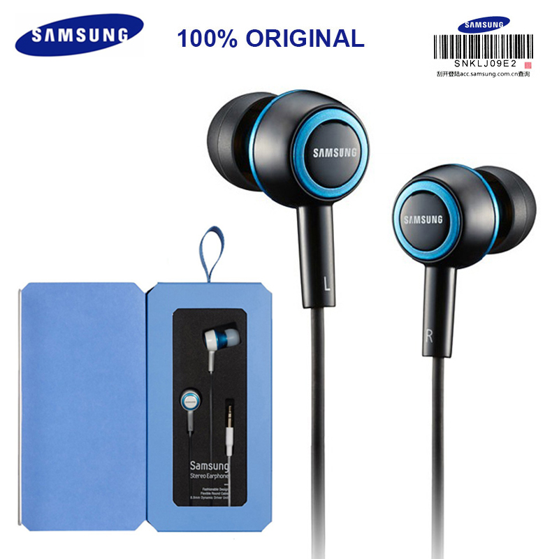 цена на SAMSUNG Original SHE-C10 Wired 1.2 m Stereo Earphones In-Ear official Genuine Support Music for Laptop/Smartphones Android