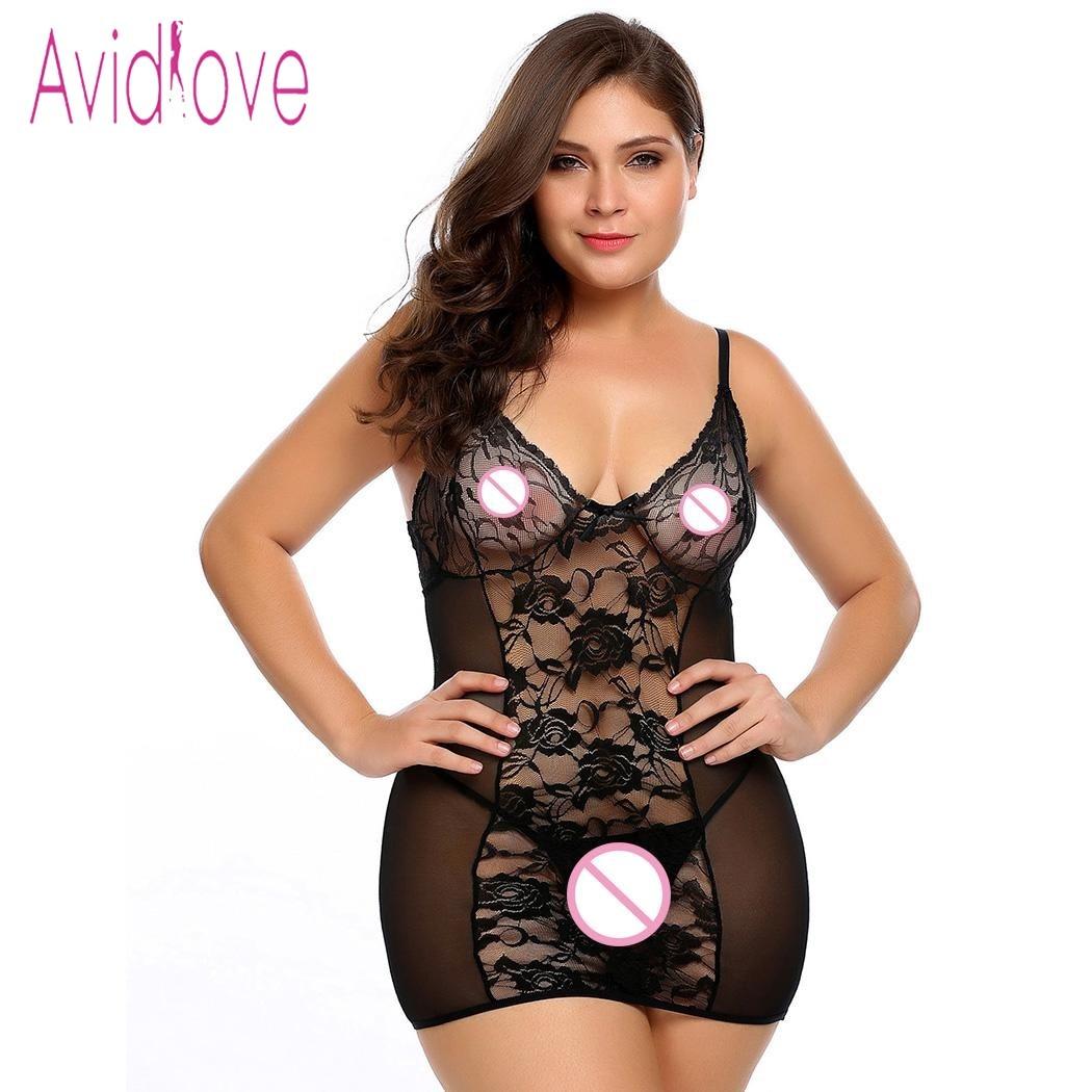 Online Get Cheap Plus Size Babydoll Nighties -Aliexpress.com ...