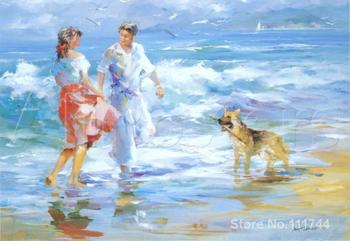 Christmas Gift Happy Family by Willem Haenraets oil painting reproduction High quality Handmade