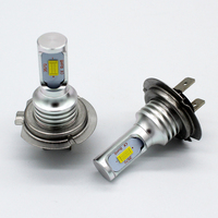 Free Shipping 2Pcs Lot H7 72W Car Styling Canbus Error Free Car Led Lamp Front And