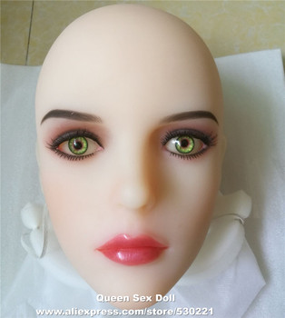 WMDOLL Top Quality Sex Doll Head For Oral Sexy Silicone Love Dolls Japanese Real Adult Doll Sexual Real Product