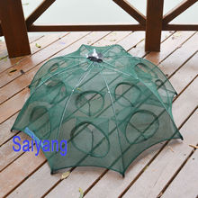 4-20 hole Bold thickening automatic fishing cage shrimp eel cage cage fishing net  to catch fish net fishing tools free shipping