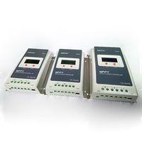 MAYLAR @ RS485 Tracer Kontroler Ładowania Słonecznego MPPT 20A 12 V 24 V Auto Przełącznik LCD Regulatora Solarnego MAX PV 100 V