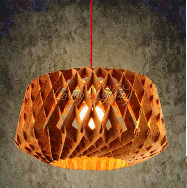 Dia 450mm oak wooden ring bird nest modern creative diy handmade dia 450mm oak wooden ring bird nest modern creative diy handmade wood led chandelier hanging pendant mozeypictures Images