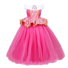 8b968442d32 FINDPITAYA Filles Sleeping Beauty Princesse Robe Vêtements Enfants D été  Sans Manches Partie Aurora Cosplay Costume De Noël robe.