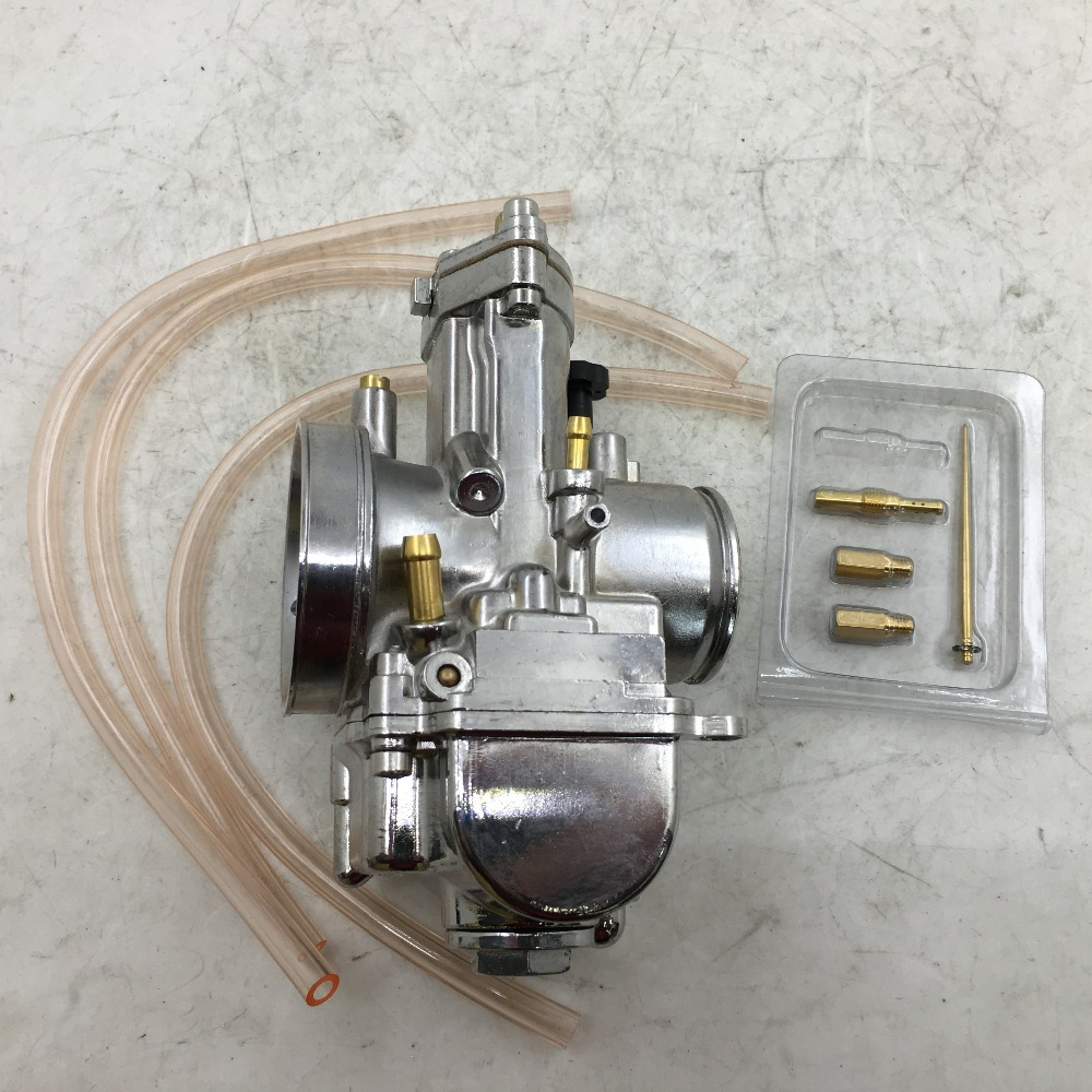 SherryBerg carburetor carburettor vergaser new carburetor 34mm PWK 34pwk OKO carb Chrome with power jet fit