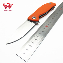 WLT Wild Boar Mini F3 Tactical Folding Knives 30 EVO Blade G10 Handle Ball Bearing Camping Knife Outdoor Survival OEM Tools EDC