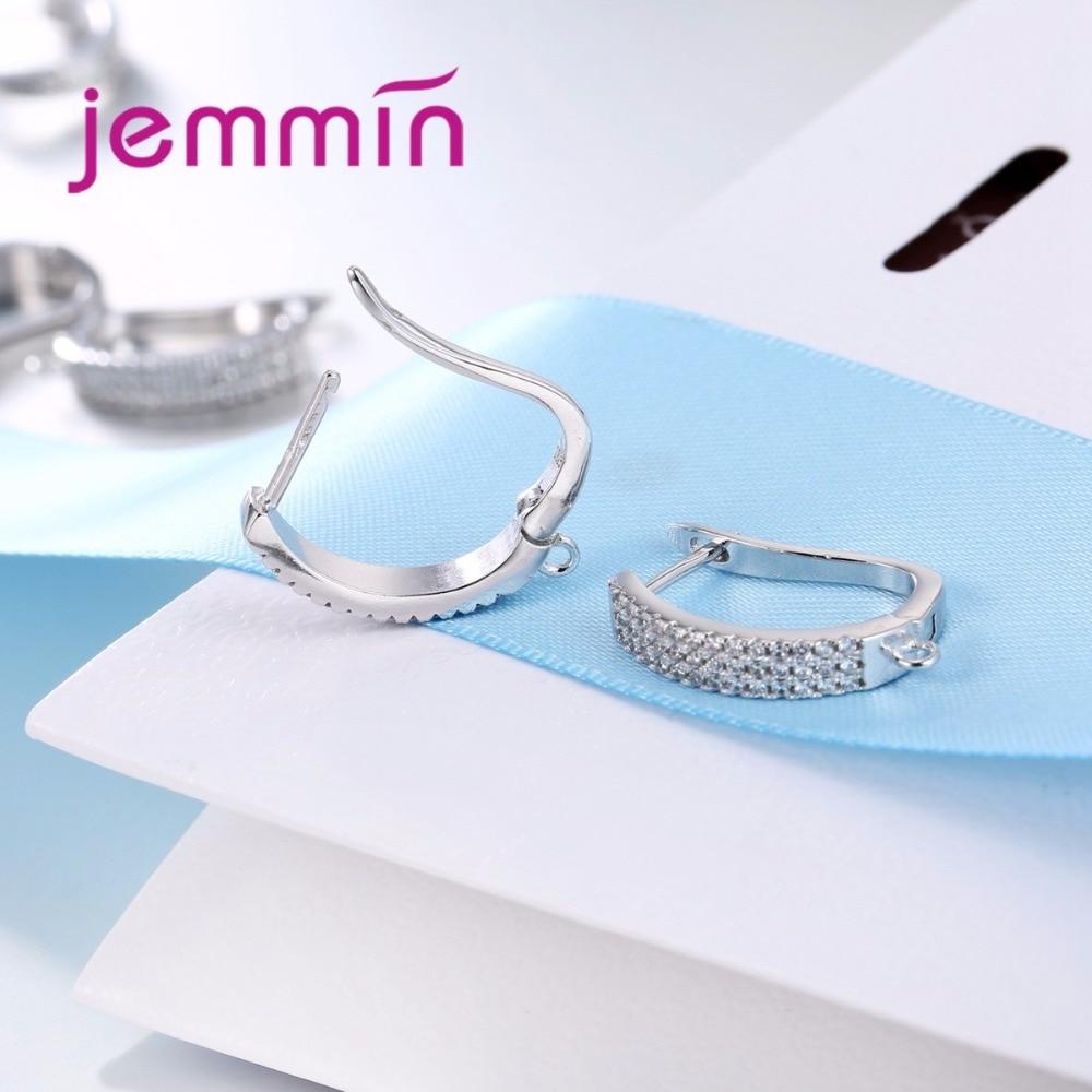 Jemmin Baru Kedatangan Penuh Batal Cubic Zirconia 925 Sterling Silver - Perhiasan bagus - Foto 5