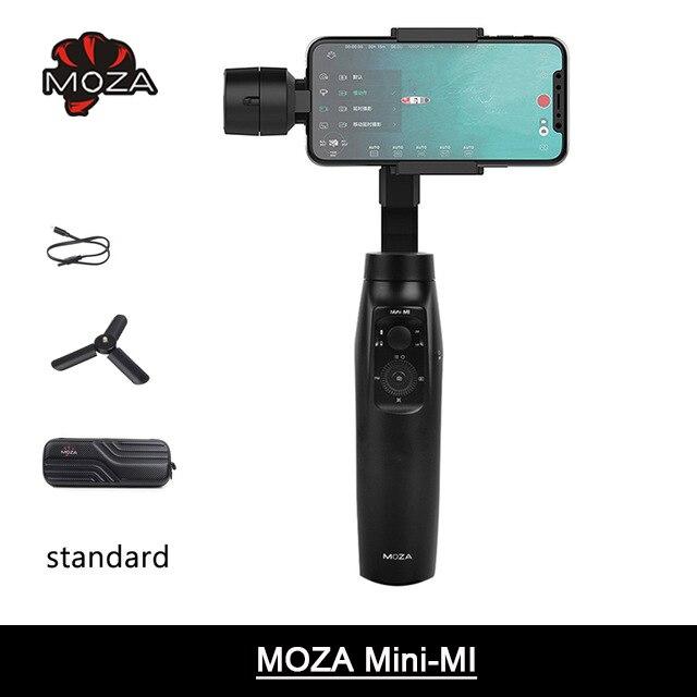 MOZA MINI MI 3-Assi Handheld Smartphone Cardano Stabilizzatore per il iphone X 8 Più di 8 7 6 s Samsung s9 S8 S7 Gopro 6 VS Zhiyun Q4 Vimble