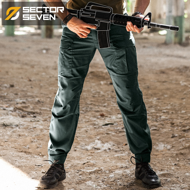 2018 New IX5 tactical pants men's Cargo casual Pants Combat SWAT Army  active Military work Cotton male Trousers mens-in Cargo Pants from Men's Clothing    2