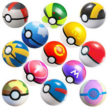 1pcs pocket ball poke ball Toy Openable 7cm Action Figures PokeBabe Great Master Gs Ball